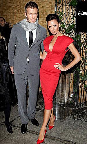 Когда твой муж входит во всевозможные рейтинги самых сексуальных мужчин планеты, приходится все время ему соответствовать. Фото: Daily Mail.