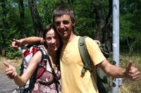 Тадас и Вита много пережили в дороге, поэтому теперь ездят только вдвоем.