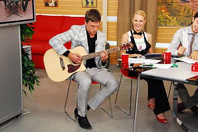 Гитарист «Антител», Никита Чухриенко: «Ре-мажор, ре-мажор, а на гитаре где это?»