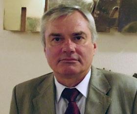 Главный государственный инспектор городского электротранспорта Вячеслав Николаенко.