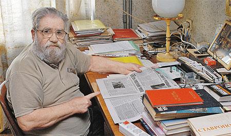 Вадим Чернов - писатель, в 1960-е годы работал в нашей газете. Он 15 лет дружил с Мессингом и потому знает о нем все. Или почти все.