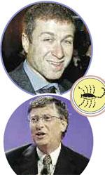 Роман Абрамович и Билл Гейтс - Скорпионы: они умеют найти подход к каждому человеку и извлечь из ситуации максимальную выгоду.
