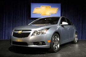 Chevrolet Cruze приходит на смену Lacetti.