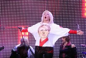 Портрет Тимошенко Ирина Билык срисовала с рекламных билбордов.