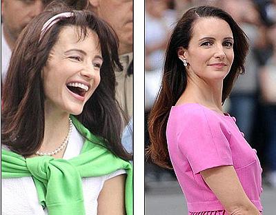 Справа: так актриса выглядела в 2006 году; слева: заметно, что на днях перед съемками продолжения