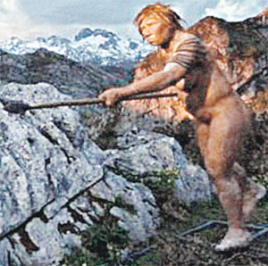В доисторические времена слабый пол отличался не красотой, а свирепостью.