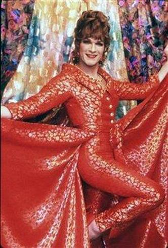 Мисс Вида Богем - Патрик настолько вжился в роль, что после фильма на него начали коситься. Фото: АП.