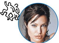 Джоли живет на треть своих денег, остальное - в банк!
