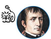 Знак прирожденного лидера – Лев (Наполеон Бонапарт).