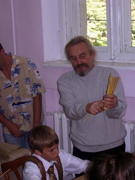 Игорь Майстерук во время мастер-класса