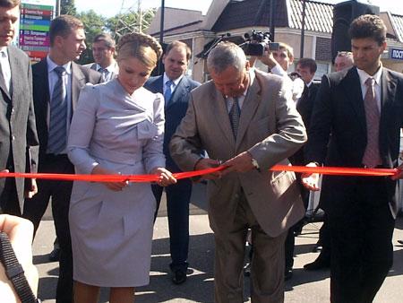 - Даже в кризис вы делаете чудеса, - сказали Тимошенко на открытии портовой эстакады.