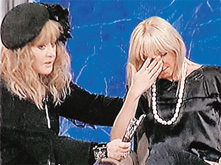 В конце передачи, где участвовала Алла Борисовна, ее дочь Кристина расплакалась...