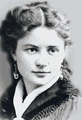 Настоящее имя - Шейндля-Сура Лейбовна Соломониак (Блювштейн). Фото сделано в 70-х годах XIX века.