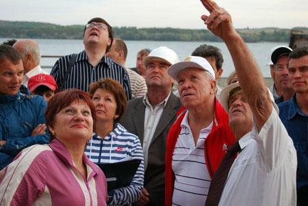 Герой Украины Алексей Вадатурский и его команда.
