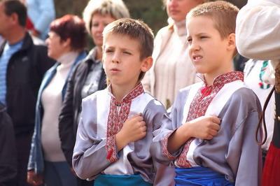 В маленьком сердце юного казака – большая любовь к родной Отчизне.