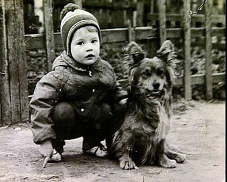 Андрей Данилко с детства был обаяшкой.