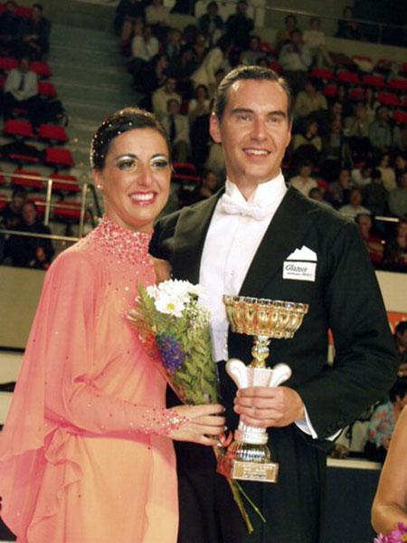 Карпухин часто побеждал и в танцевальных турнирах.