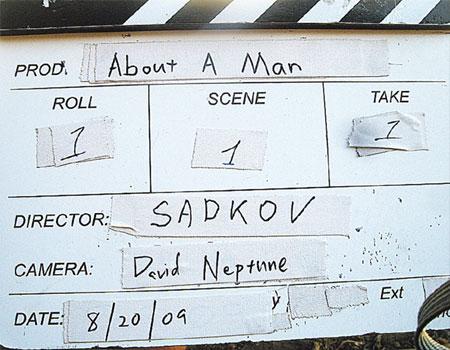 У любого блокбастера - такая же табличка. Только режиссер другой и бюджет...