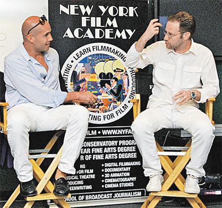 Звезда «Титаника» Билли Зейн (слева) и продюсер Михаил Файнштейн знают, что порассказать про Голливуд...