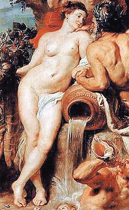 Эпоха Возрождения – сильно упитанные. Женщина с картины Рубенса.
