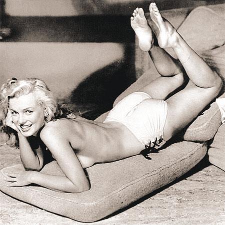 Середина ХХ века - в теле. Мэрилин Монро.