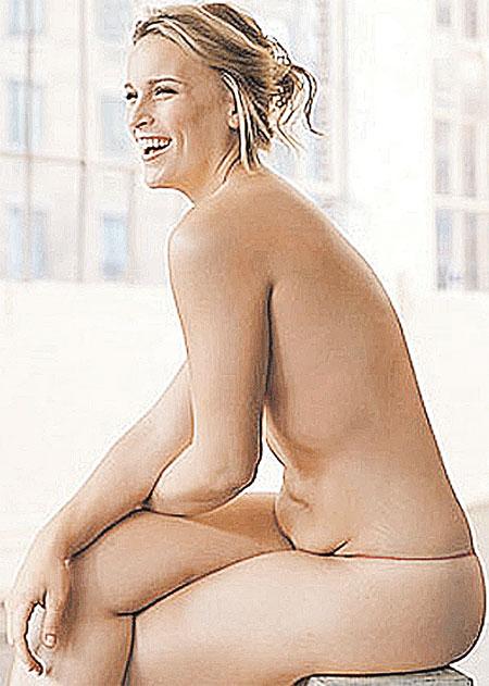 Начало ХХI века - снова в теле. Лиззи Миллер – самая модная сегодня манекенщица.