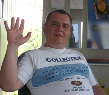 Руководитель Волчанского РОВД Вячеслав Гармаш. Фото с сайта Одноклассники.ру