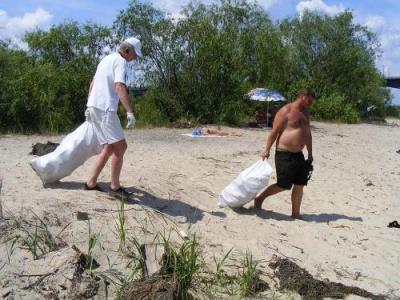 Ассоциация лодочников совершит генеральную уборку на островах Киева