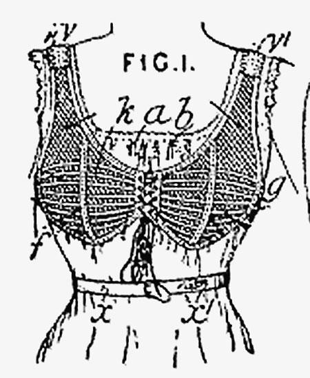 Вот так выглядел самый первый «бюстик».