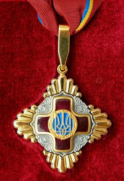 Орден «За заслуги» III степени.