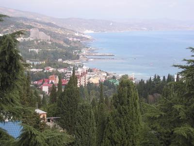 Жильцы комплекса «Дружба» каждый день любуются крымской природой.