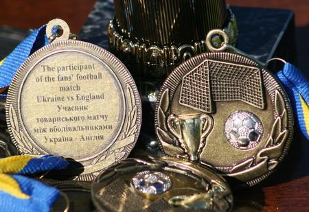 В честь матча были выпущены специальные медали