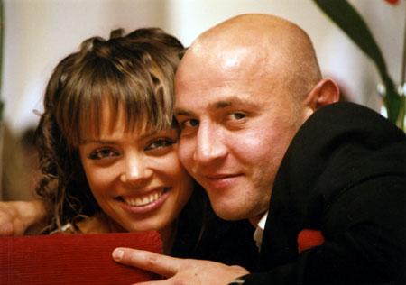 Аня Назаренко не сомневалась, что ее Сергей забьет гол.