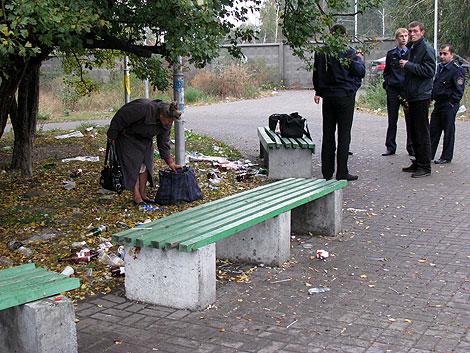 Под станцией метро