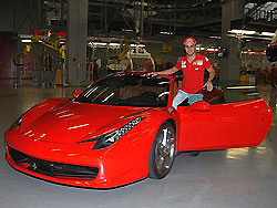 Фелипе Масса с новой Ferrari.