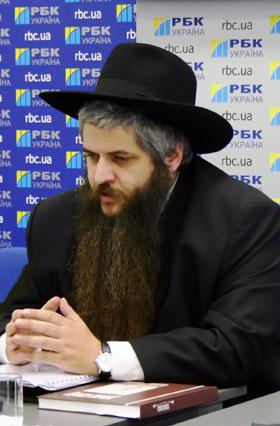 Главный раввин Украины Моше Асман.