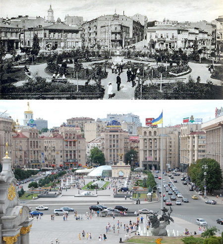 Майдан образца 1910-го и 2009 года.