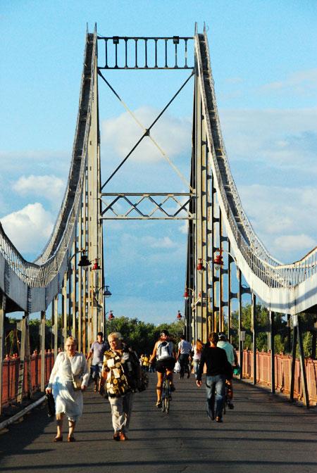 За 100 лет построили еще 6 мостов через Днепр.