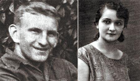 Роман Шухевич и его жена Наталья Березинская.