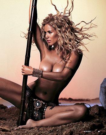 В ближайших планах секс-дивы выпуск альбома и запуск собственного музшоу. Фото: предоставлено журналом Playboy.