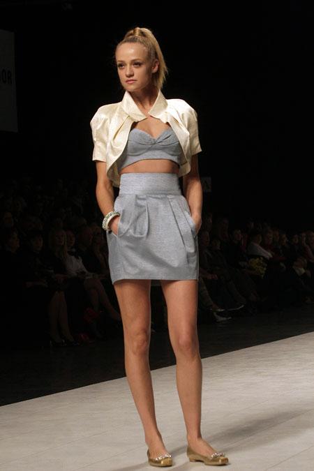 Людмила Кисленко порадовала модным топ-бюстье.
