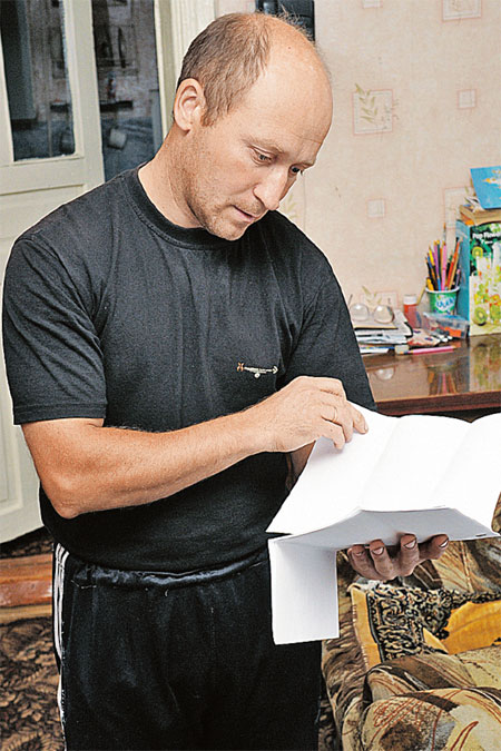 Андрей Чернов получает от руководства больницы только пустые отписки.