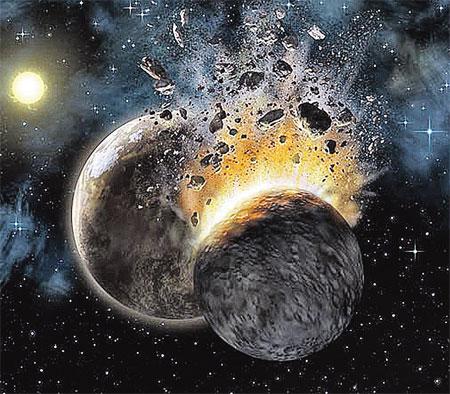 Не исключено, что между Марсом и Юпитером когда-то находилась планета Фаэтон. Но погибла в результате космической катастрофы, оставив осколки с водой.