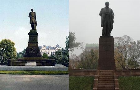 Натерпевшись от царя при жизни, Тарас Григорьевич занял его место после смерти.