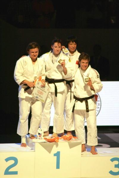 Впервые в истории женского дзюдо «серебро» на чемпионате мира получила украинка Марина - крайняя слева