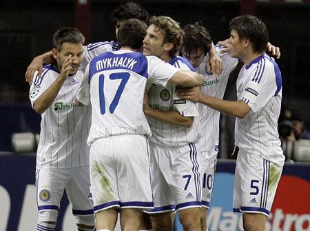 Футболистам «Динамо»: есть что отпраздновать!