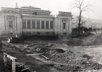 Реконструкция музея в 1968-1974 гг.