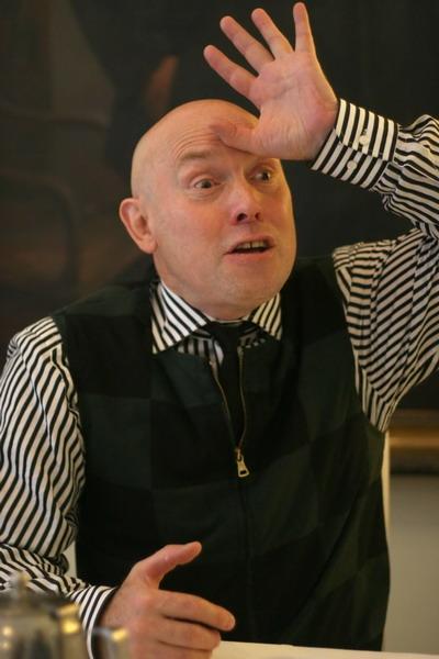 Виктора Сухорукова в Днепропетровске принимали как родного. Фото автора.