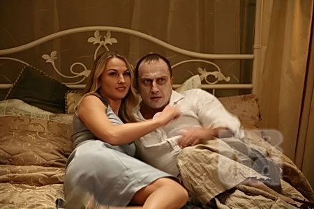 В лирической комедии «Муж моей вдовы» героиня Камалии успела побывать в постели Дмития Нагиева...