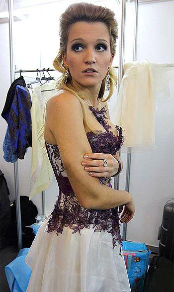 Женя Малахова в шоке от полученных травм.